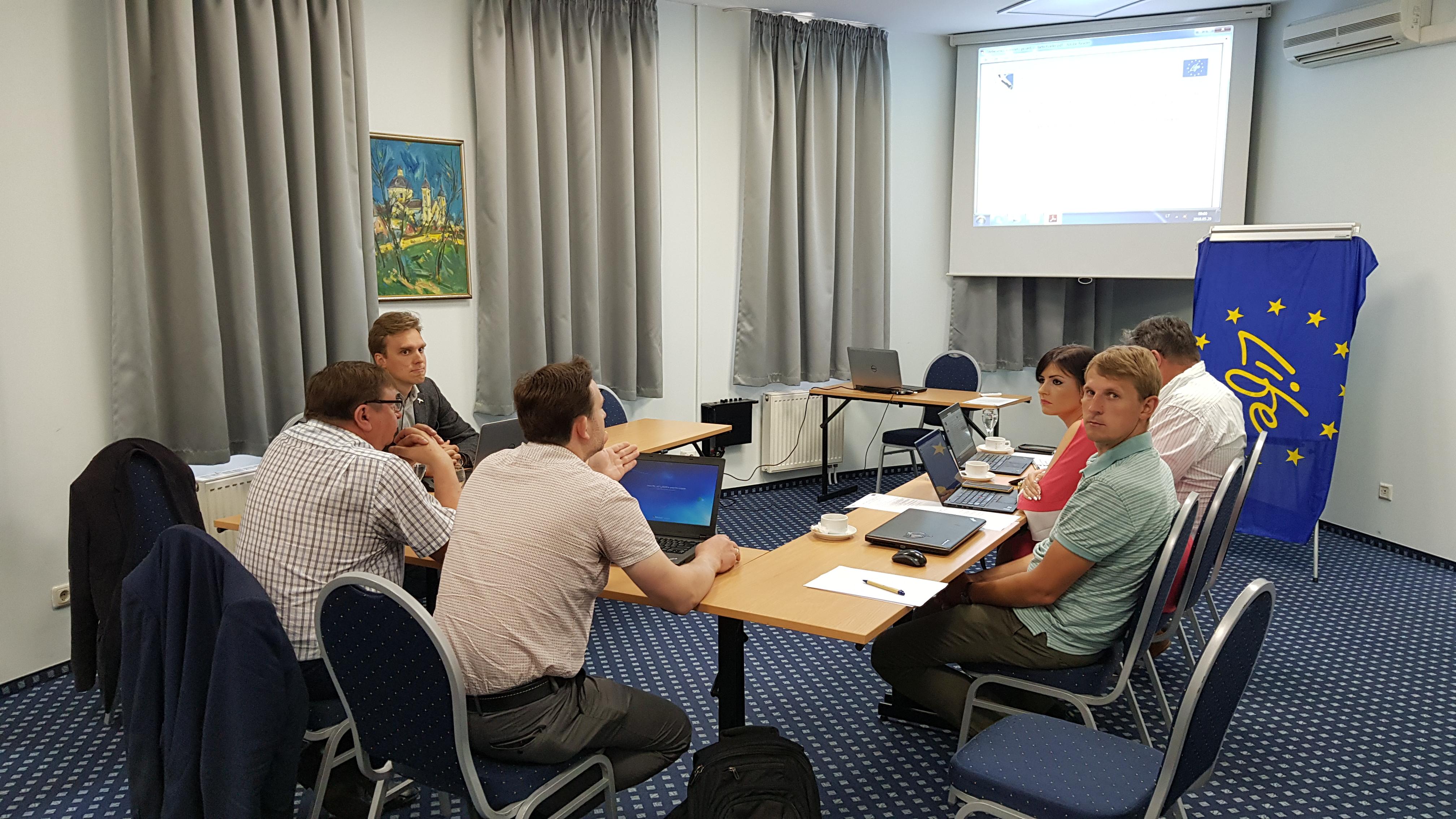Įvyko ketvirtasis projekto stebėsenos komiteto posėdis