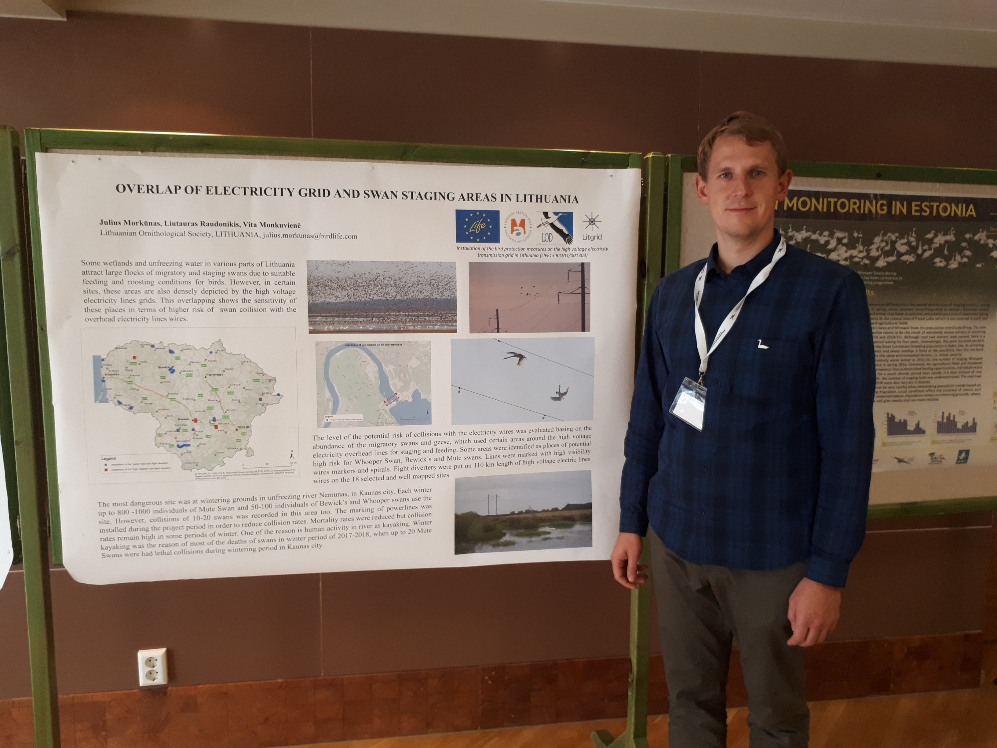 Project results were presented at International Swan Symposium in Estonia