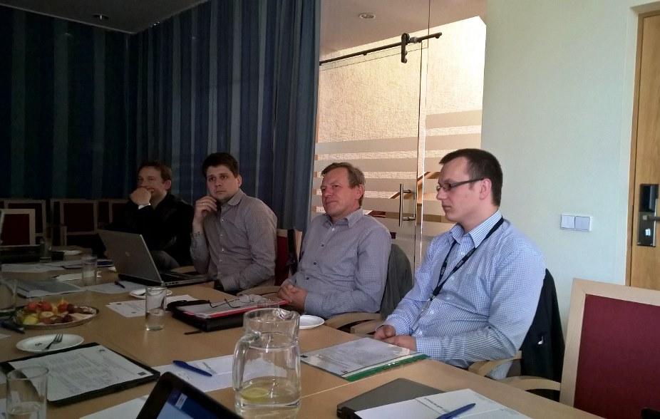 Įvyko projekto stebėsenos komiteto posėdis