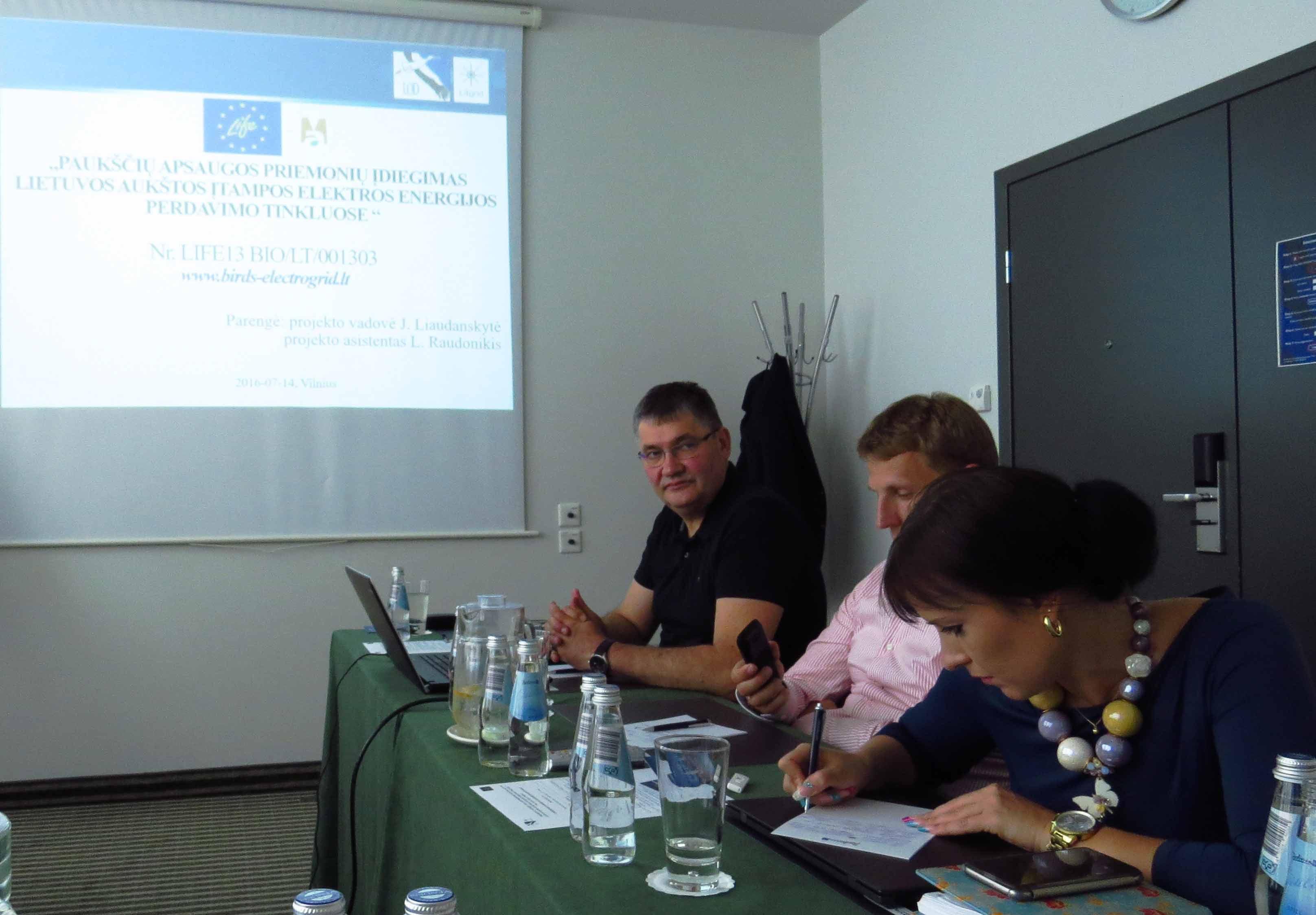 Įvyko antrasis projekto stebėsenos komiteto posėdis